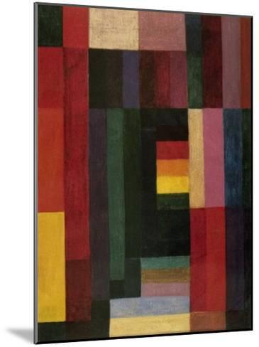 Horizontal/Vertikal-Johannes Itten-Mounted Art Print