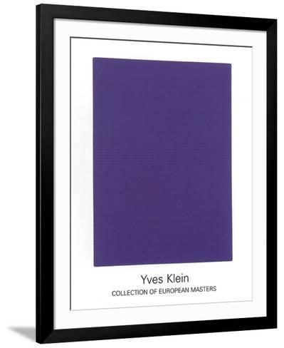 IKB65, 1960-Yves Klein-Framed Art Print