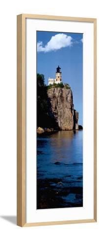 Split Rock--Framed Art Print