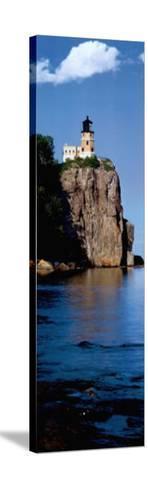 Split Rock--Stretched Canvas Print