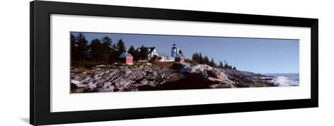 Pemaquid Point Light--Framed Art Print