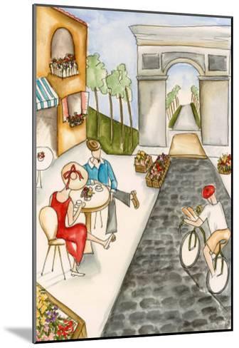 Parisian Holiday II-Jennifer Goldberger-Mounted Art Print