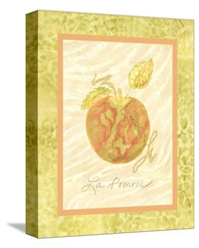 La Pomme-Nancy Slocum-Stretched Canvas Print