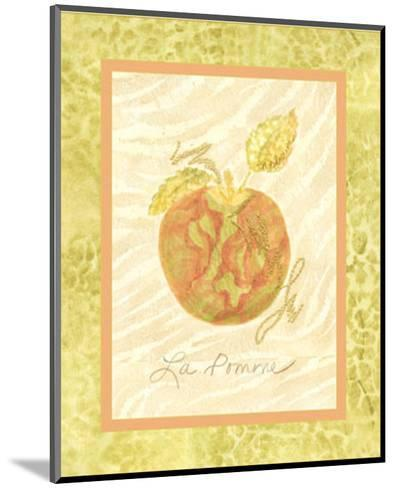 La Pomme-Nancy Slocum-Mounted Art Print