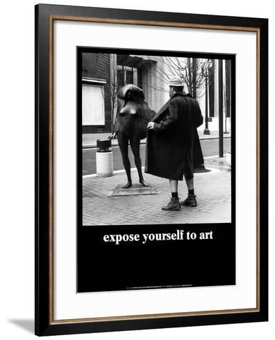 Expose yourself to art art print by m ryerson art expose yourself to art m ryerson framed art print solutioingenieria Gallery