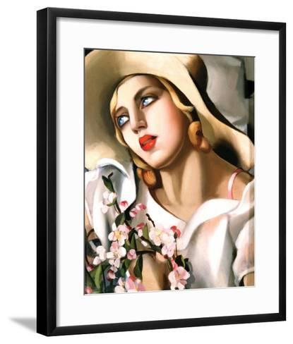 Portrait Fille-Tamara de Lempicka-Framed Art Print