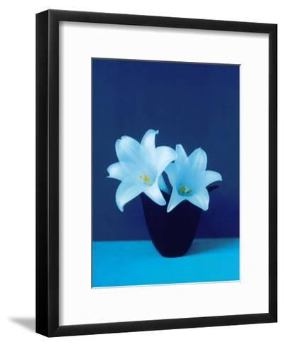 Lilies-Masao Ota-Framed Art Print
