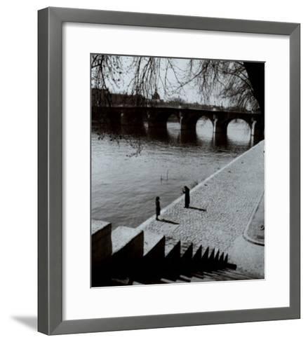 The Pont-Neuf, Paris-Edouard Boubat-Framed Art Print