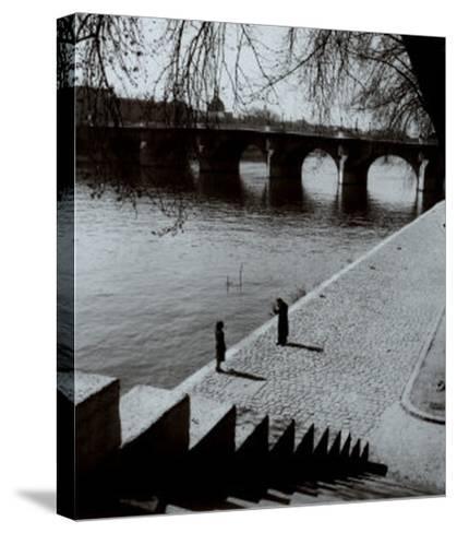The Pont-Neuf, Paris-Edouard Boubat-Stretched Canvas Print