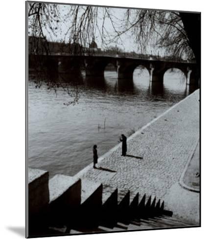 The Pont-Neuf, Paris-Edouard Boubat-Mounted Art Print