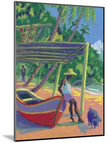 The Antilles- Zau-Mounted Art Print