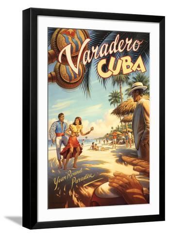 Varadero, Cuba-Kerne Erickson-Framed Art Print
