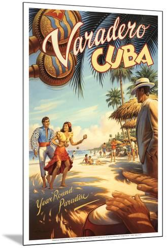 Varadero, Cuba-Kerne Erickson-Mounted Art Print