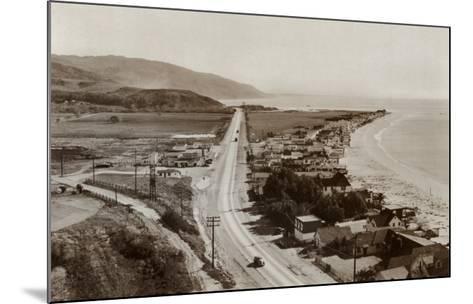 Malibu Beach Colony, 1944--Mounted Art Print