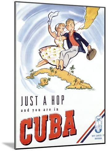 Cuba--Mounted Giclee Print
