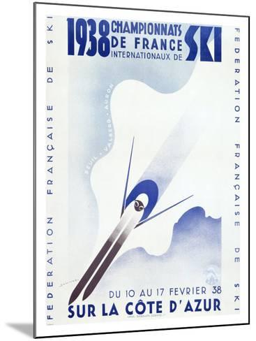 Championnats de France, c.1938--Mounted Giclee Print