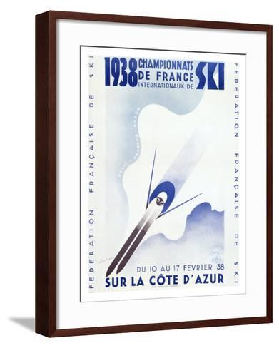 Championnats de France, c.1938--Framed Art Print
