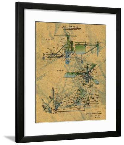 The Helicopter--Framed Art Print