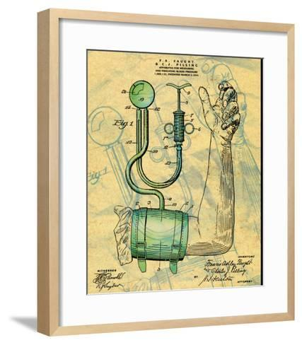 Blood Preasure Apparatus--Framed Art Print