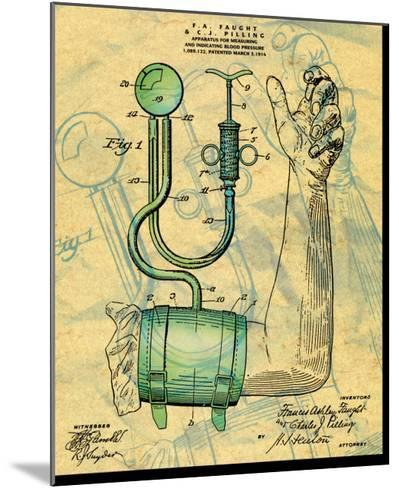 Blood Preasure Apparatus--Mounted Art Print