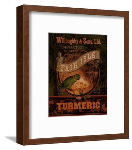 Turmeric-Pamela Gladding-Framed Art Print