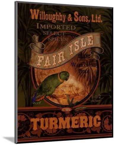Turmeric-Pamela Gladding-Mounted Art Print