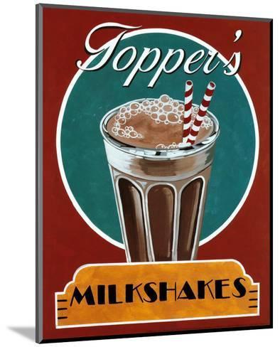 Milkshakes-Catherine Jones-Mounted Art Print