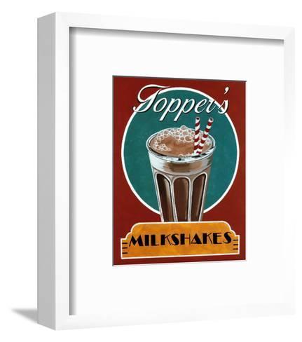 Milkshakes-Catherine Jones-Framed Art Print