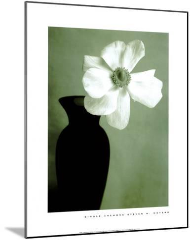 Single Anemone-Steven N^ Meyers-Mounted Art Print