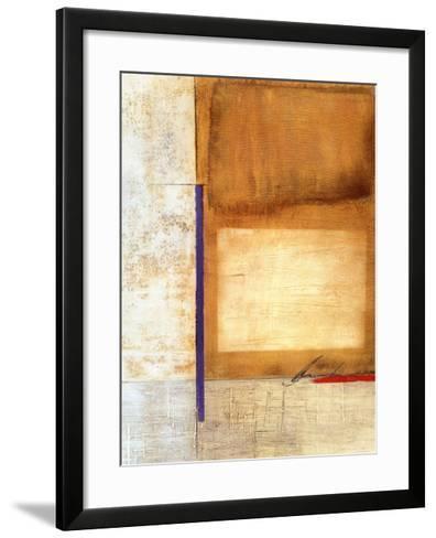 Semaphore I-Dex Verner-Framed Art Print