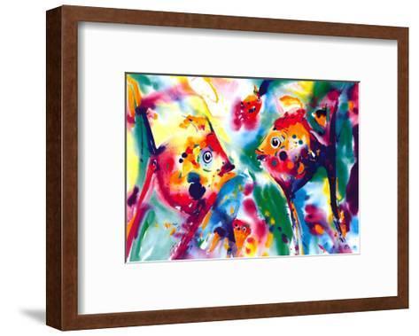 Angel Fish-Alfred Gockel-Framed Art Print