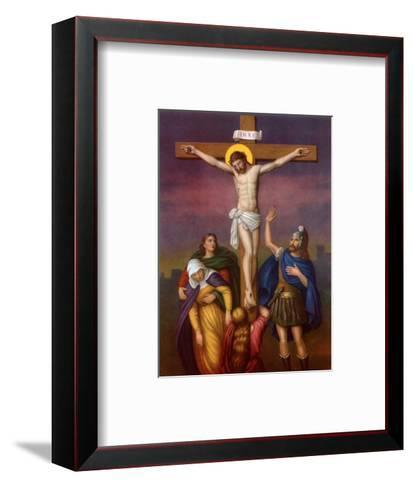 The Crucifixion of Christ--Framed Art Print
