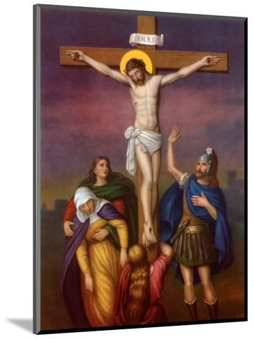 The Crucifixion of Christ--Mounted Art Print