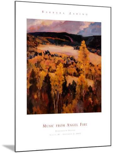 Ute Park New Mexico-Barbara Zaring-Mounted Art Print