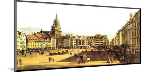 Dresden Altmarkt-Canaletto-Mounted Art Print