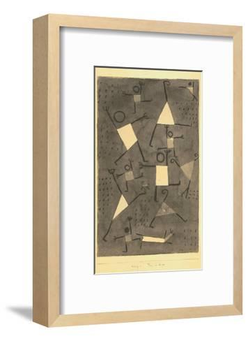 Tanze Vor Angst-Paul Klee-Framed Art Print