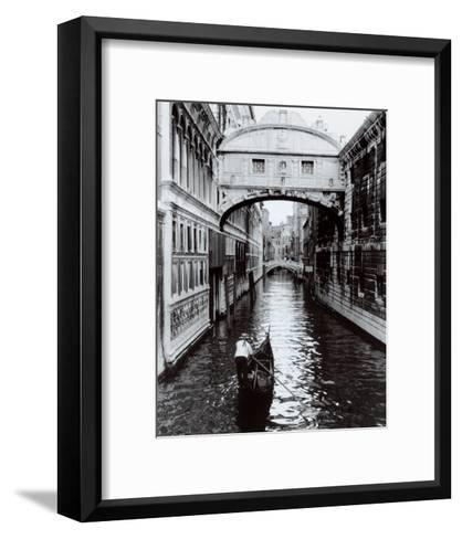 Venice Canal-Cyndi Schick-Framed Art Print