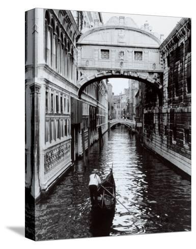 Venice Canal-Cyndi Schick-Stretched Canvas Print