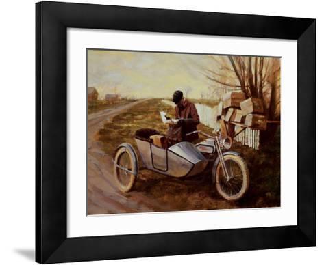 Special Delivery-David Uhl-Framed Art Print