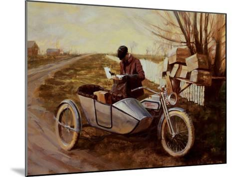 Special Delivery-David Uhl-Mounted Art Print