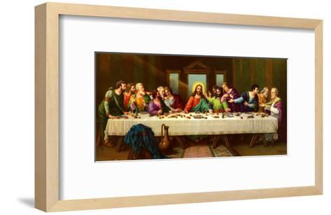 Heiliges Abendmahl-Zabateri-Framed Art Print