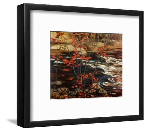 The Red Maple-A^ Y^ Jackson-Framed Art Print