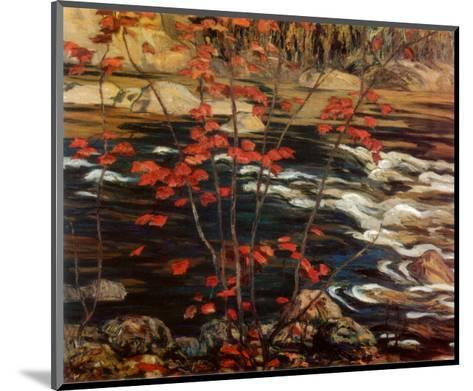 The Red Maple-A^ Y^ Jackson-Mounted Art Print