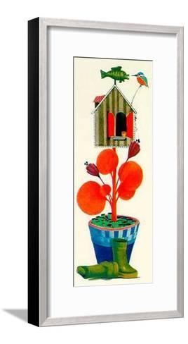 Upper Room IV-W^ Petersen-Framed Art Print