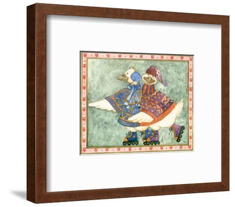 Geese Family I-Isabelle De Bercy-Framed Art Print