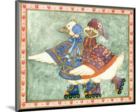 Geese Family I-Isabelle De Bercy-Mounted Art Print