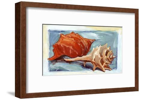 Caracolas II-Cruz-Framed Art Print