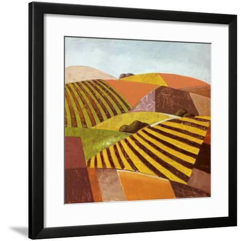 Paisajes Tierras II-Ranz-Framed Art Print