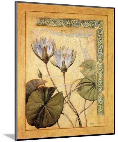 Flores Exoticas y Mapas II-Javier Fuentes-Mounted Art Print