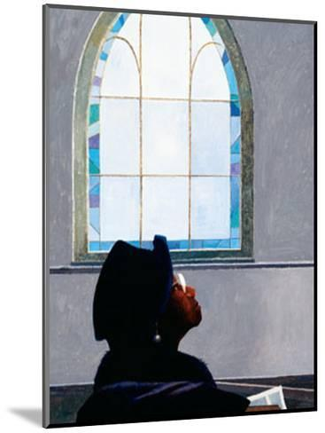 Listening to the Lord-Dean Mitchell-Mounted Art Print